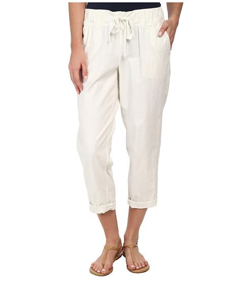 Dockers Misses - Linen Capri (Paper White) Women