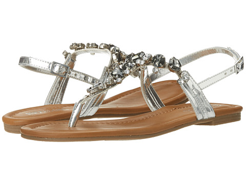 Kenneth Cole Reaction - Drag Fire (Silver) Women's Sandals