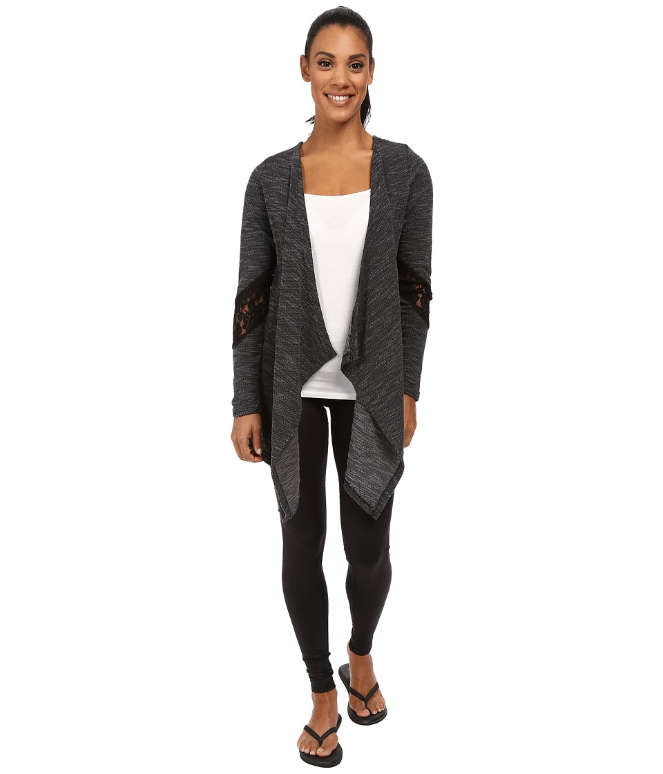 Soybu - Danika Wrap (Black) Women's Sweater
