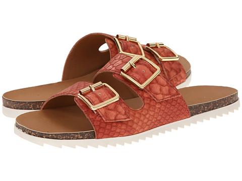 Kenneth Cole Reaction - Zo Ro (Exotic Orange) Women's Sandals