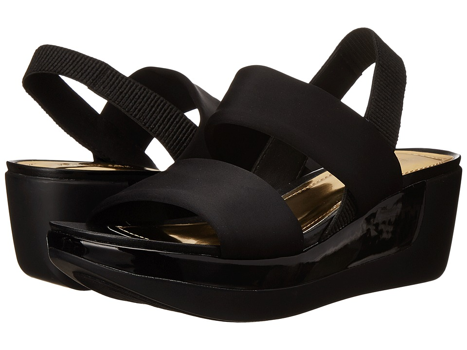Kenneth Cole Reaction - Pepe Pot (Black) Women's Wedge Shoes