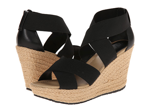 Kenneth Cole Reaction - Sole Lay (Black) Women's Wedge Shoes