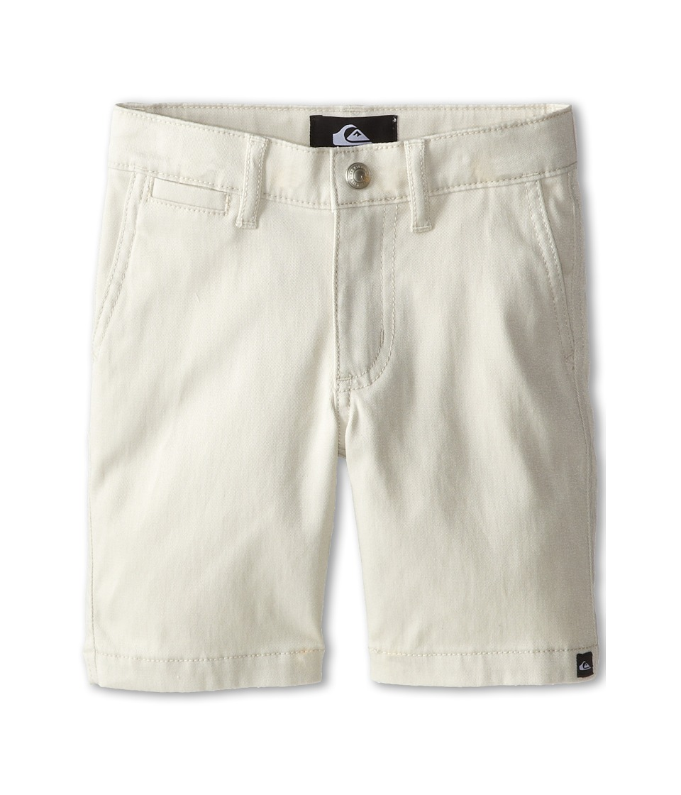 Quiksilver Kids - Union Chino Short (Toddler) (Rainy Day) Boy's Shorts