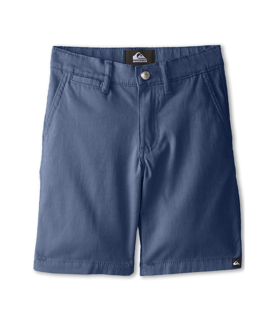 Quiksilver Kids - Union Chino Short (Toddler) (Dark Denim) Boy's Shorts