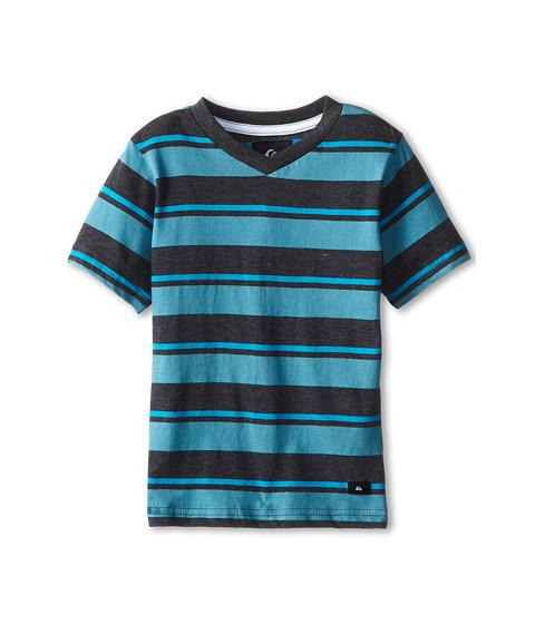 Quiksilver Kids - Mason Tee (Toddler/Little Kids) (Black Heather) Boy's T Shirt