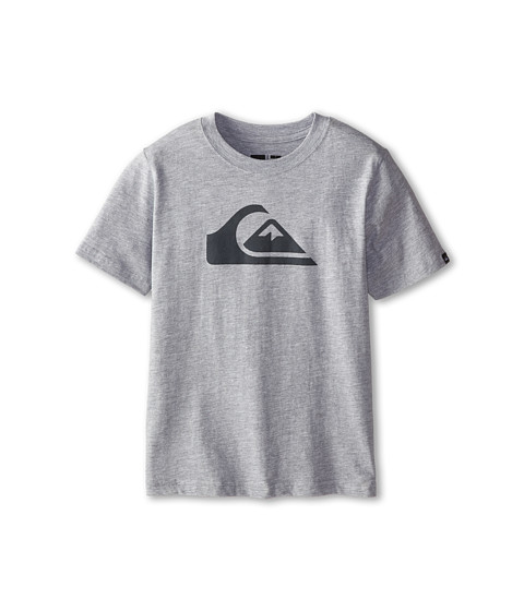 Quiksilver Kids - Everyday Logo Core Tee (Toddler/Little Kids) (Grey Heather) Boy