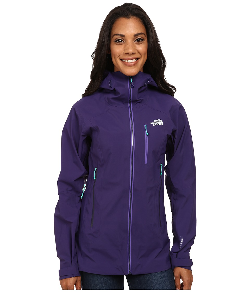 The North Face - Zero Gully Jacket (Garnet Purple) Women's Coat