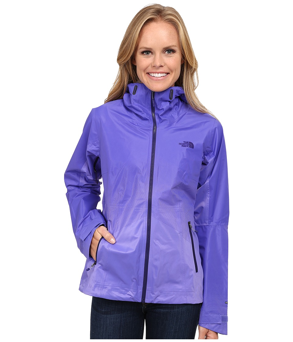 The North Face - FuseForm Dot Matrix Jacket (Starry Purple Tri Matrix) Women's Coat