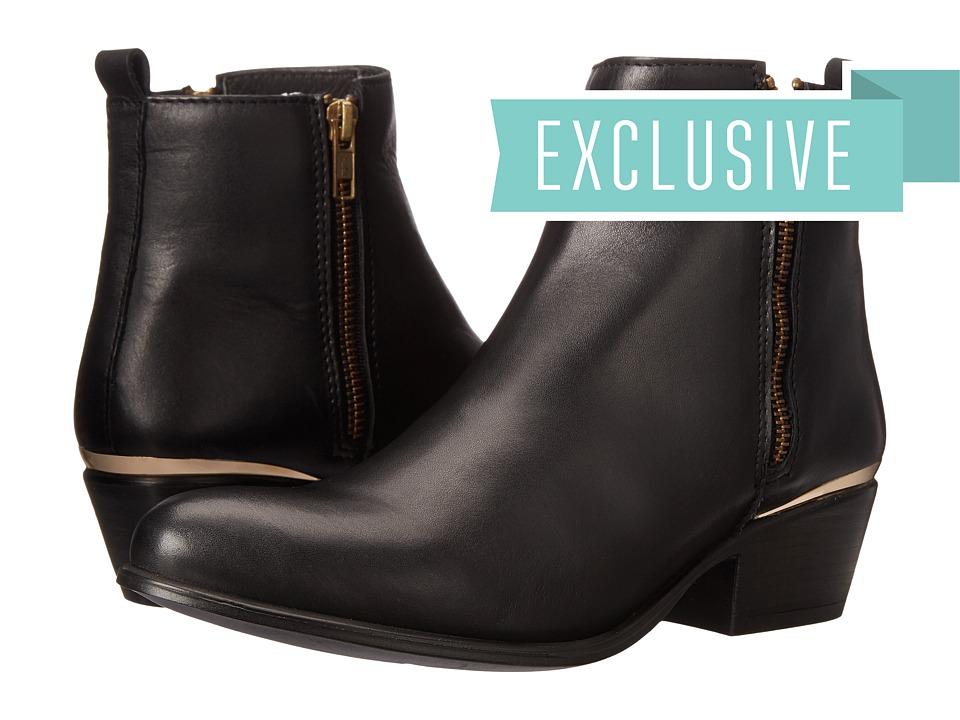 Steve Madden - Exclusive - November (Black Leather) Women