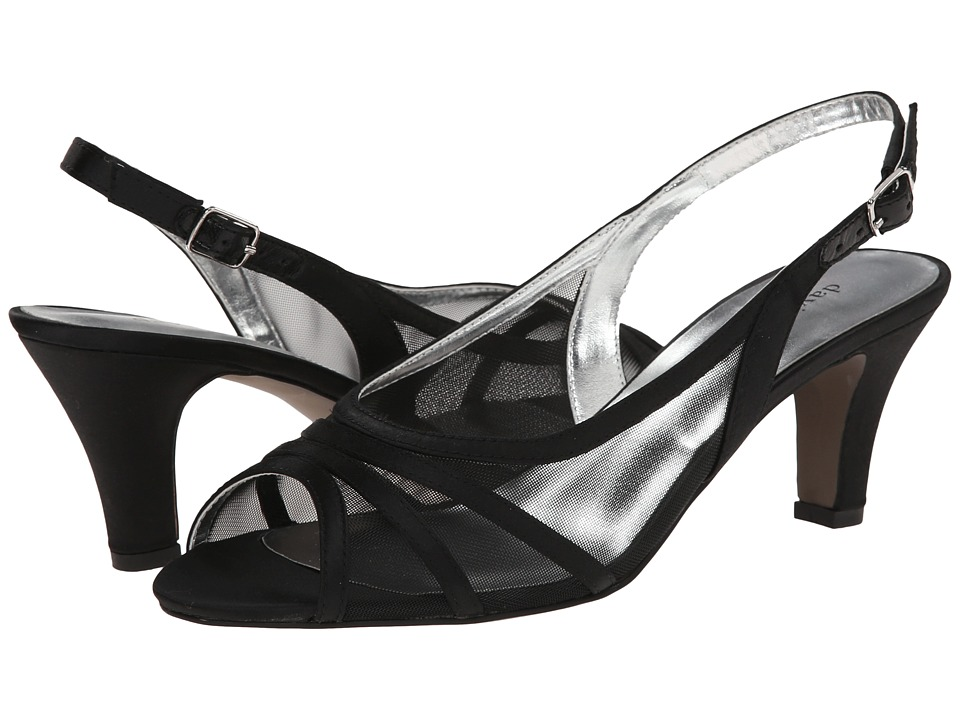 David Tate Petal (Black) High Heels