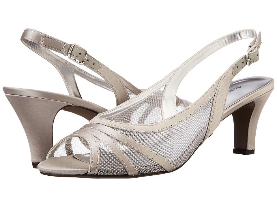 David Tate Petal (Silver) High Heels