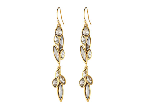 Alexis Bittar - Dangling Marquis Cluster Drop In Starlight Earrings (10K Gold) Earring