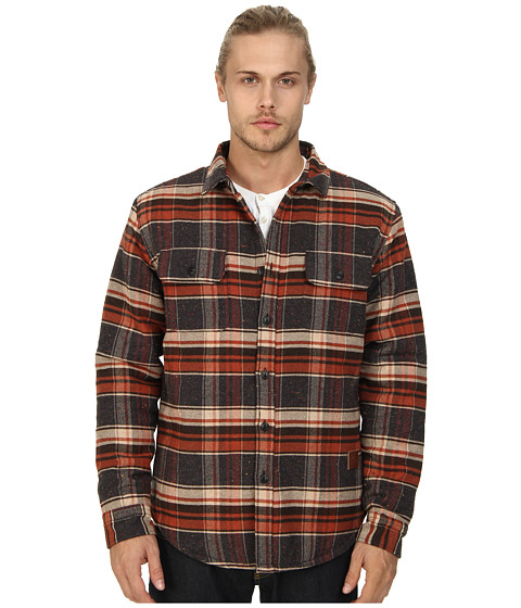 J.A.C.H.S. - Doube Flap Pocket Shirt Jacket (Red) Men