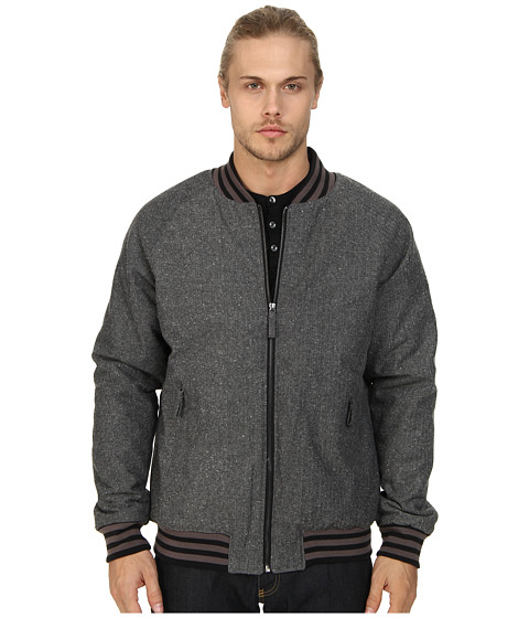 J.A.C.H.S. - Varsity Jacket In Herringbone (Grey) Men