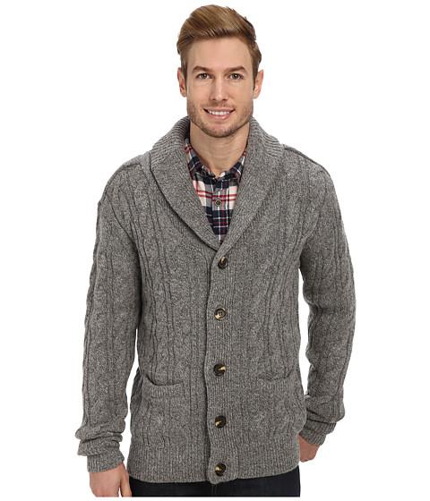 J.A.C.H.S. Shawl Cardigan (Dark Grey) Men's Sweater