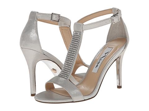 Nina - Cabaret (Silver) High Heels