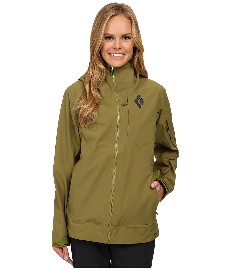 Black Diamond - Mission Shell (Sage) Women's Coat