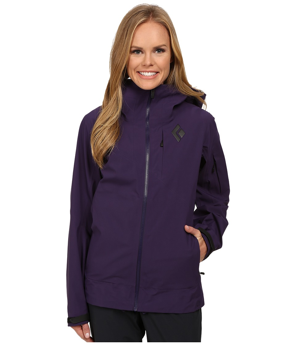 Black Diamond - Mission Shell (Nightshade) Women's Coat