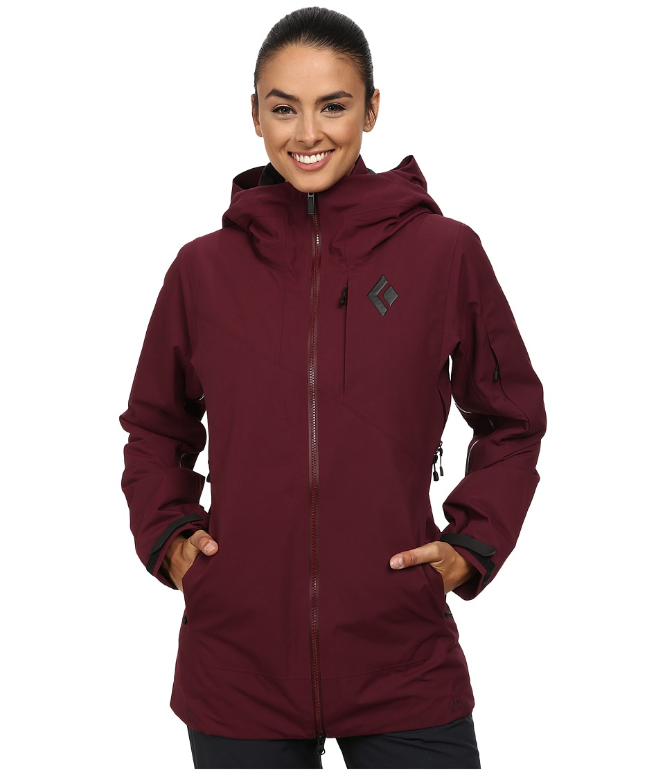 Black Diamond - Zone Shell (Merlot) Women
