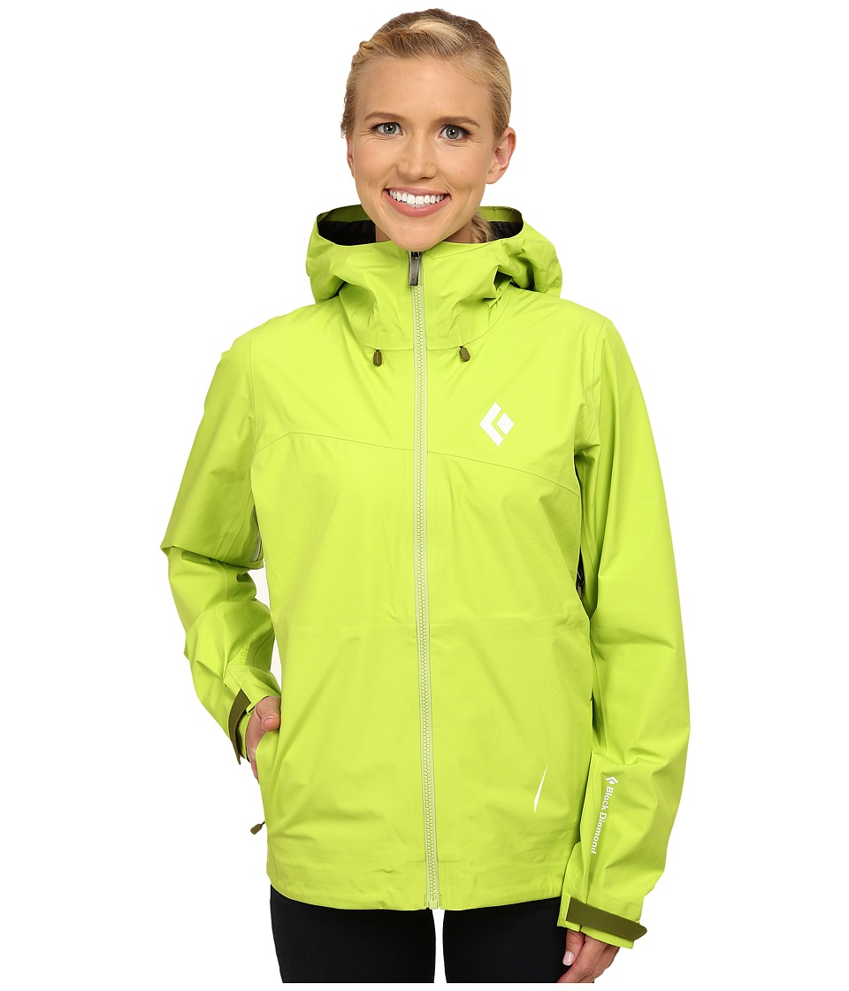 Black Diamond - Liquid Point Shell (Aloe) Women's Jacket