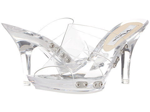 Nina - Reddy (Clear) High Heels