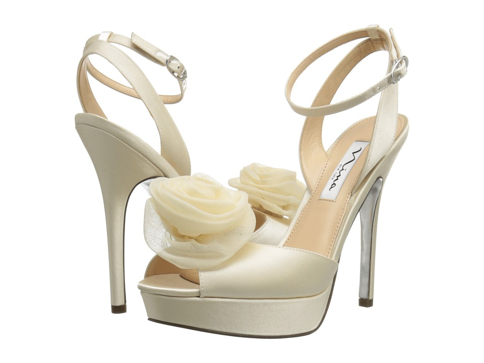 Nina Makara (Ivory) High Heels