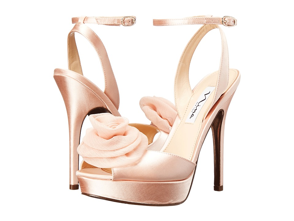 Nina - Makara (Peach) High Heels