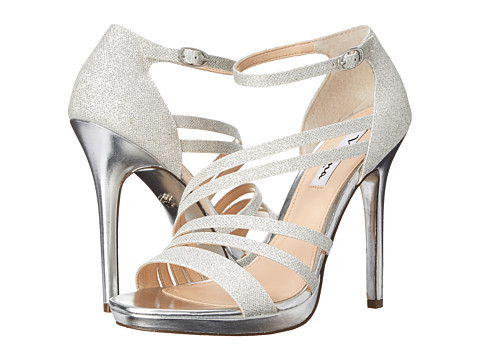 Nina - Friday (Silver) High Heels