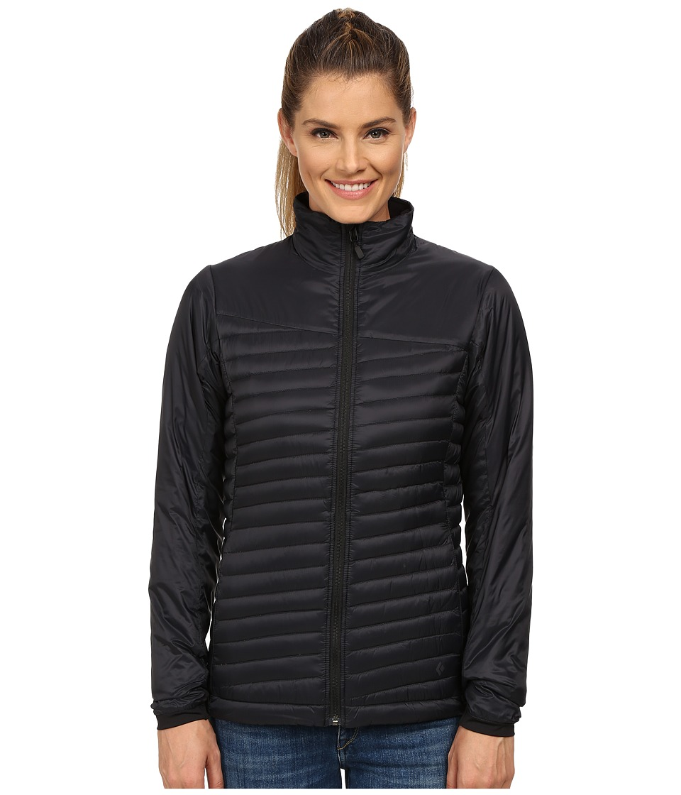 Black Diamond - Hot Forge Hybrid Jacket (Black) Women's Coat