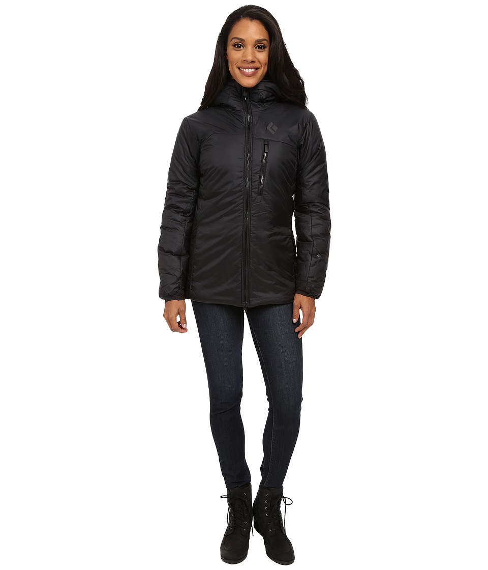 Black Diamond - Stance Belay Parka (Black) Women's Coat