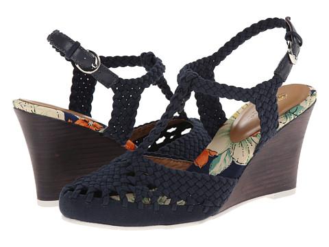 Nina Originals - Matrix (Navy Canvas) Women's Wedge Shoes