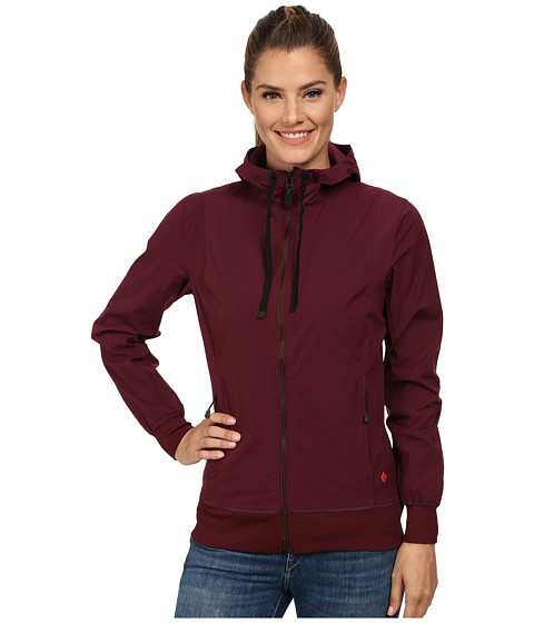Black Diamond - Sinestra Hoodie (Merlot) Women's Sweatshirt