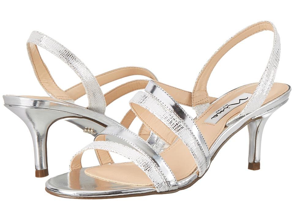 Nina - Canton (Silver) High Heels