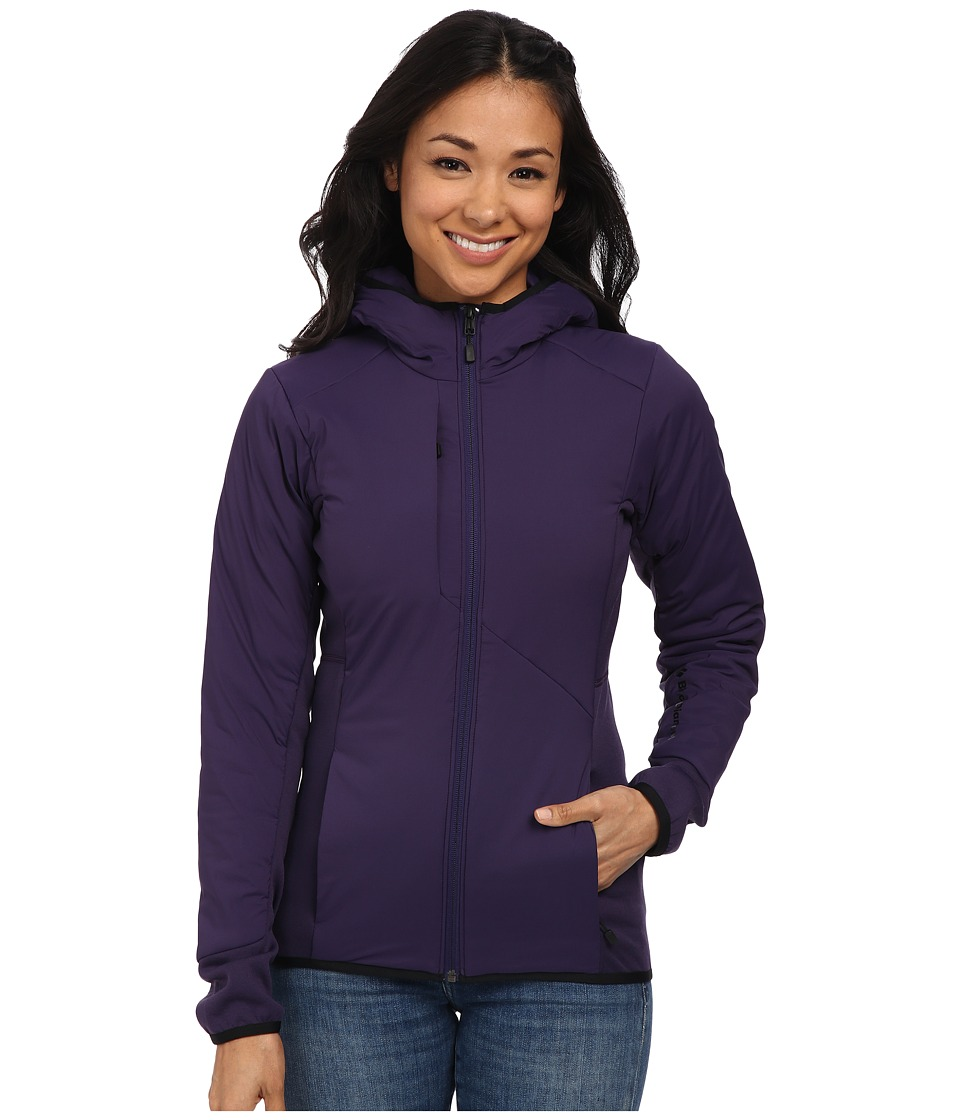 Black Diamond - Deployment Hybrid Hoodie (Nightshade) Women's Sweatshirt