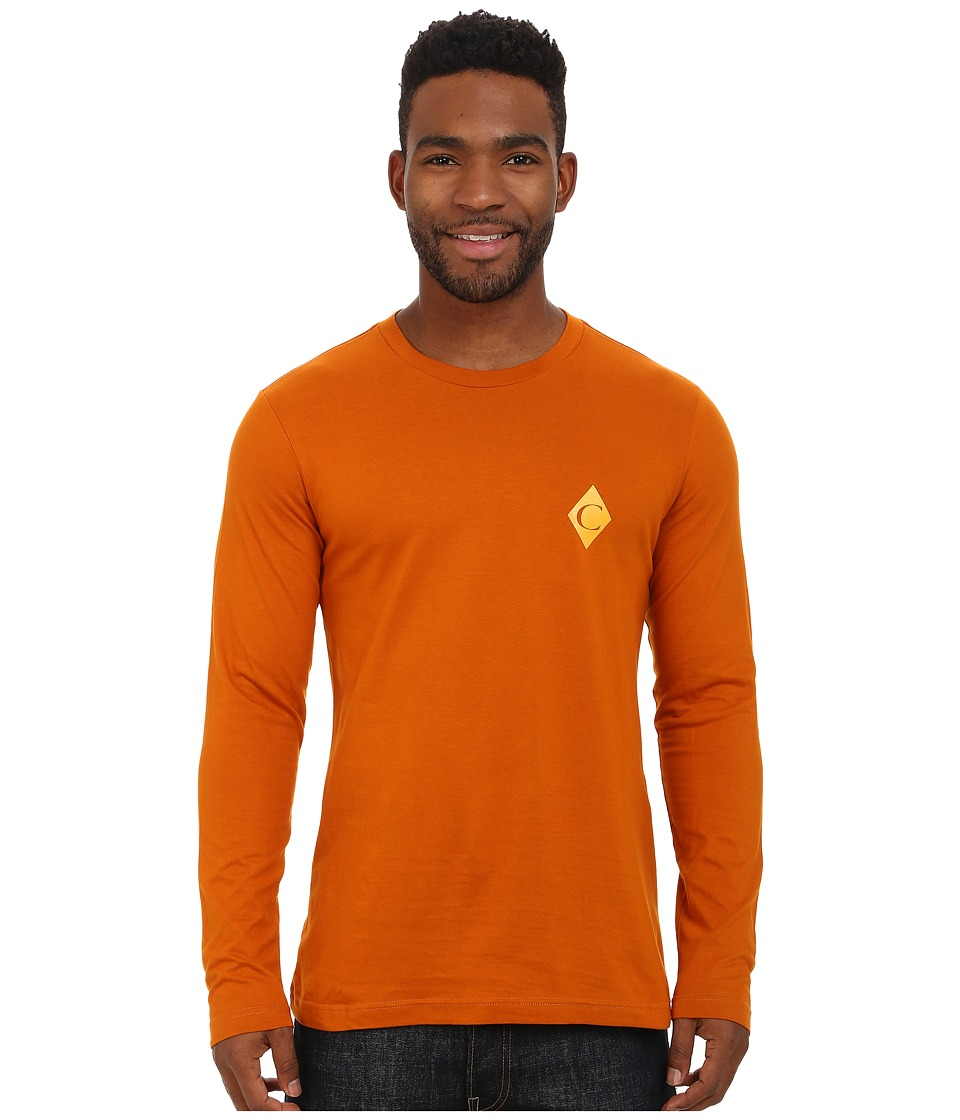 Black Diamond - Long Sleeve Diamond C Tee (Copper) Men's T Shirt