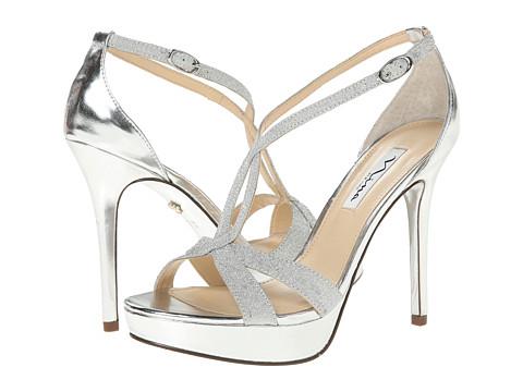 Nina - Sizzle (Silver) High Heels