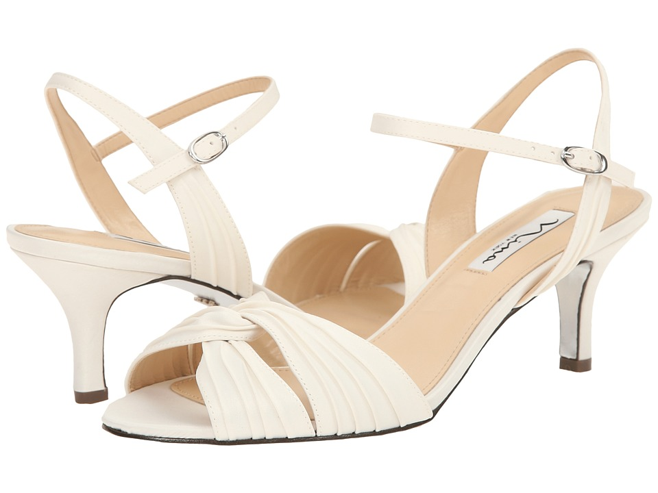 Nina Camille (Ivory) High Heels