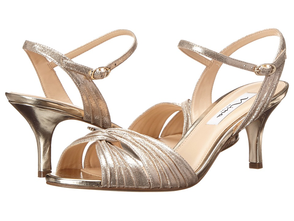Nina - Camille (Taupe/Light Gold) High Heels