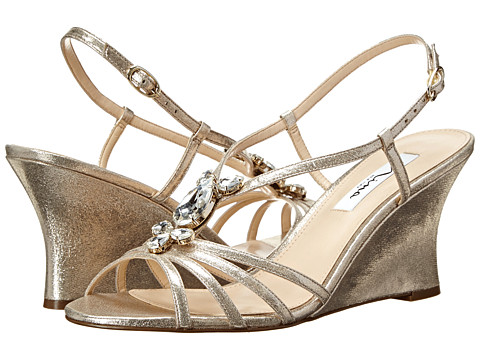 Nina - Mineola (Taupe/Light Gold) Women