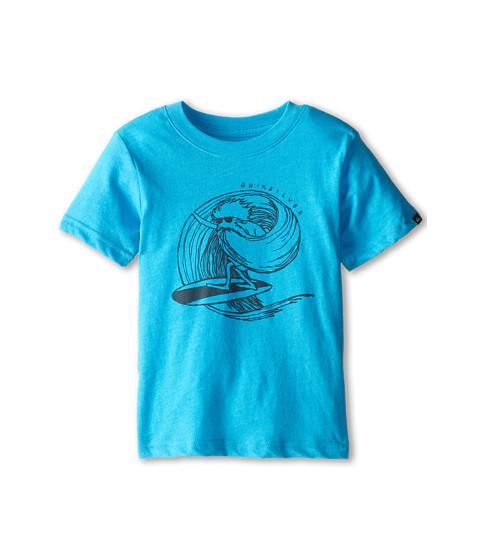 Quiksilver Kids - Asfar Tee (Toddler/Little Kids) (Hawaiian Ocean Heather) Boy's T Shirt