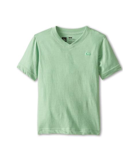 Quiksilver Kids - Daily Tee (Toddler/Little Kids) (Shamrock Heather) Boy's T Shirt
