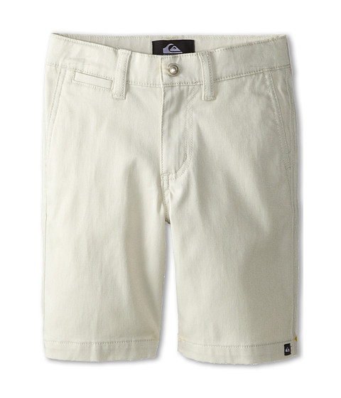 Quiksilver Kids - Union Chino Short (Toddler/Little Kids) (Rainy Day) Boy