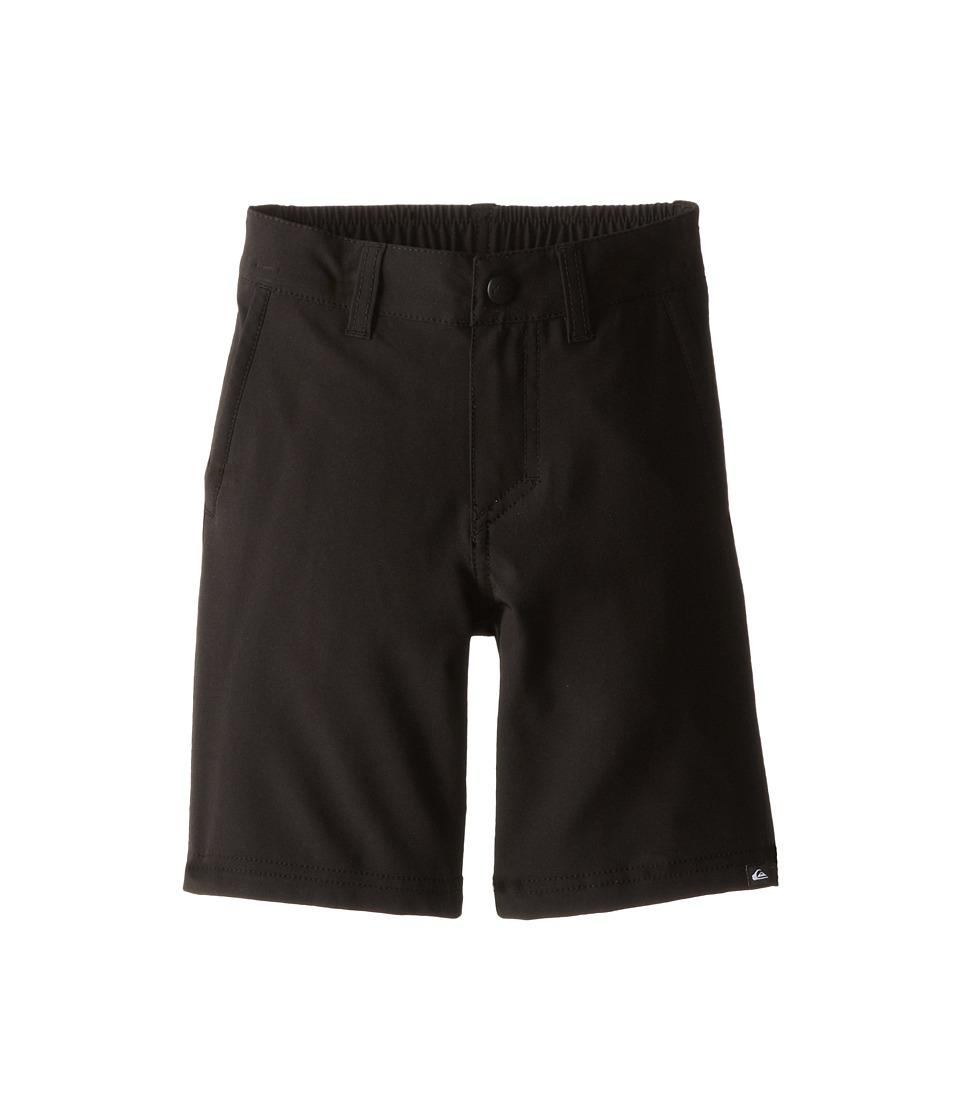 Quiksilver Kids - Everyday Solid Amphibian Short (Toddler/Little Kids) (Black) Boy's Shorts