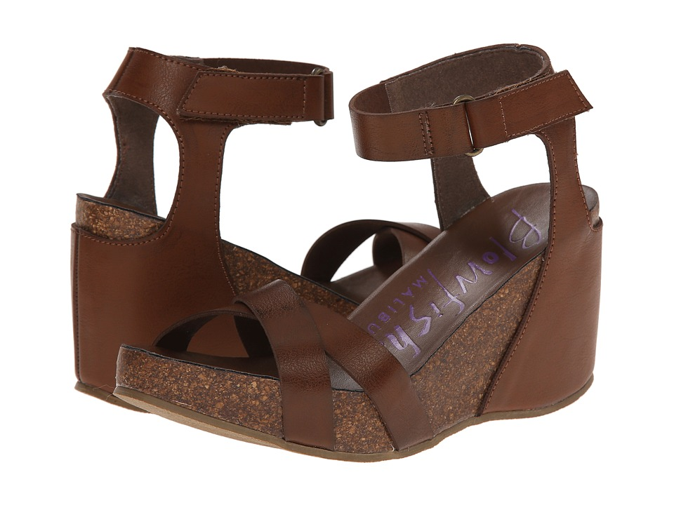 Blowfish - Hippy (Whiskey Pisa Pu) Women's Sling Back Shoes