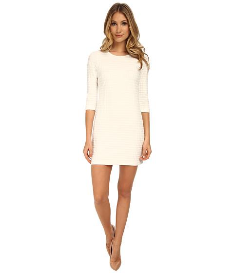 Theory - Mini Shift K Dress (White/White) Women