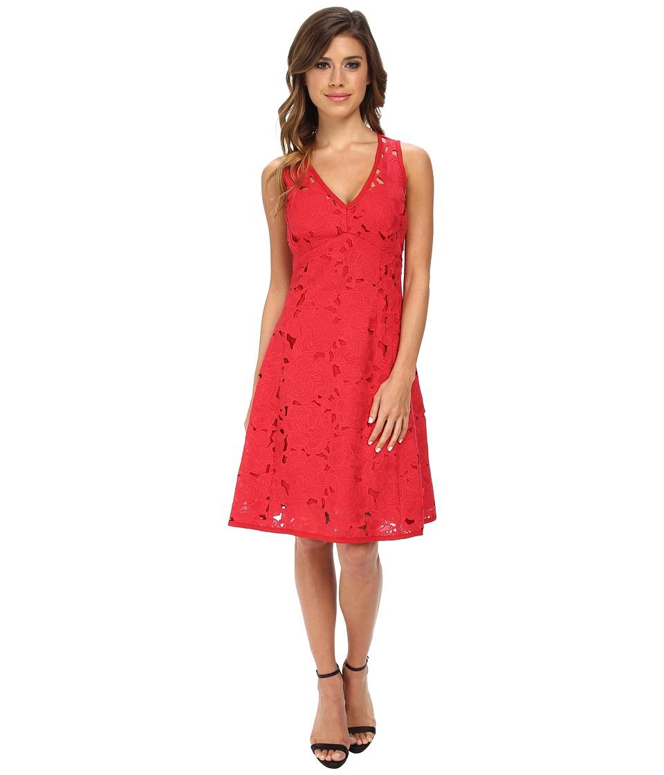 Nanette Lepore - Mi Amor Sheath (Poppy Red) Women's Dress