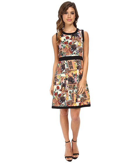 Nanette Lepore - Postcard Dress (Sunflower Multi) Women's Dress