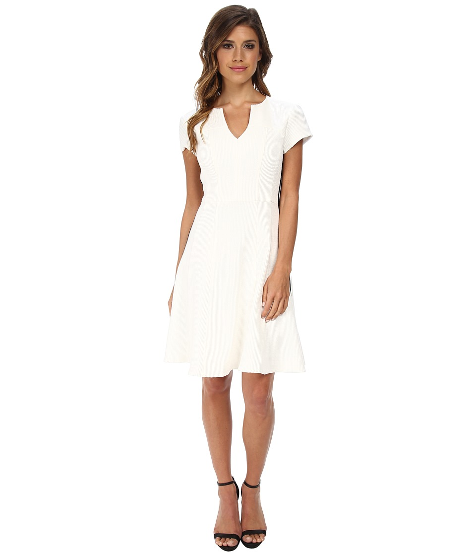 Nanette Lepore - Song Dance Dress (White/Black) Women's Dress