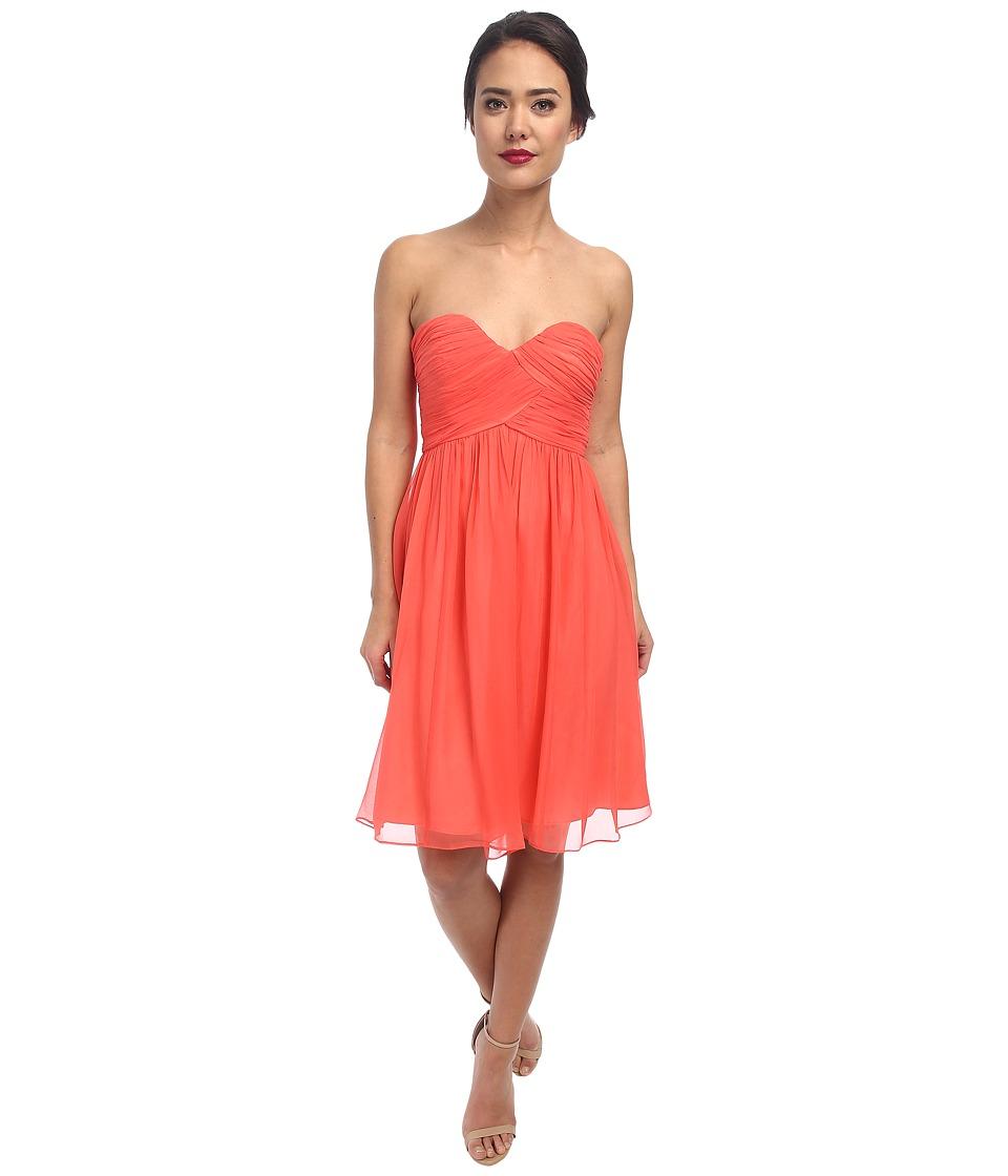 Donna Morgan - Morgan Sweetheart Dress (Coral) Women's Dress
