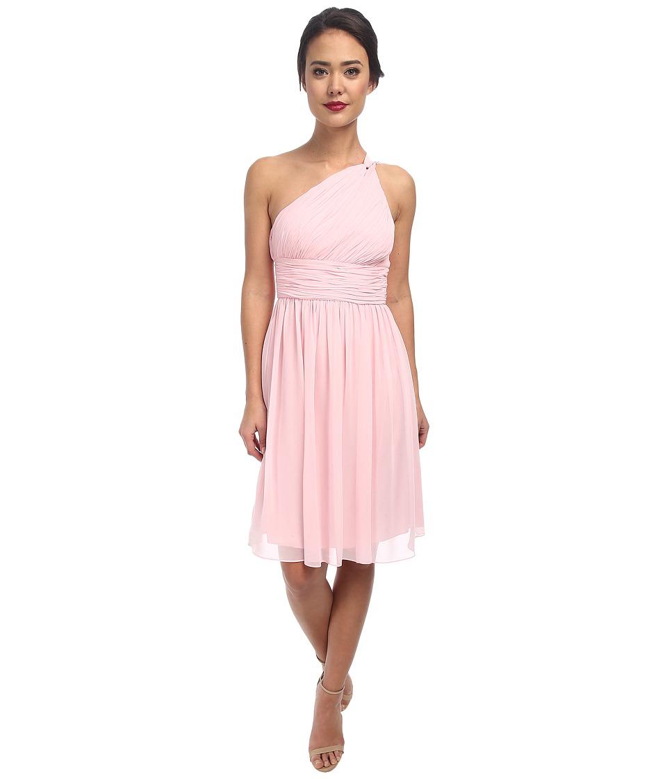 Donna Morgan - Rhea One-Shoulder Dress (Blush) Women's Dress